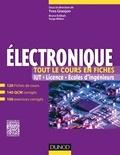 Electronique - Tout le cours en fiches - 120 fiches de cours, QCM et exercices corrigés.