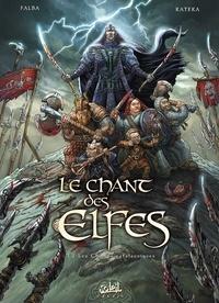 Bruno Falba et Mike Ratera - Le chant des elfes Tome 3 : Les champs catalauniques.