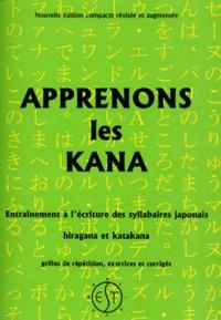 APPRENONS LES KANA. Entrainement à l'écriture des syllabaires japonais hiragana et katakana - Bruno Fernandes | Showmesound.org