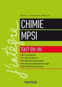 Bruno Fosset et Jean-Bernard Baudin - Chimie MPSI tout-en-un.