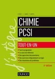 Bruno Fosset et Jean-Bernard Baudin - Chimie PCSI.