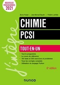 Bruno Fosset et Jean-Bernard Baudin - Chimie PCSI - Tout-en-un.