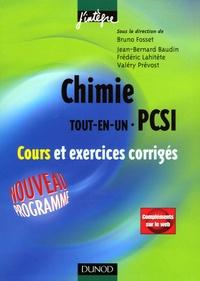 Ucareoutplacement.be Chimie Tout-en-un 1ère année PCSI - Cours et exercices corrigés Image