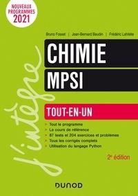 Bruno Fosset et Jean-Bernard Baudin - Chimie tout-en-un MPSI - 2e éd..