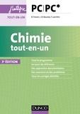 Bruno Fosset et Jean-Bernard Baudin - Chimie tout-en-un PC-PC* - 3e éd.
