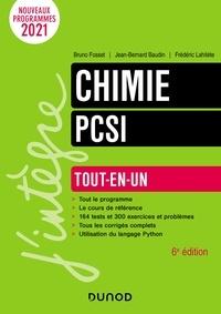 Bruno Fosset et Jean-Bernard Baudin - Chimie tout-en-un PCSI - 6e éd..