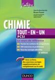 Bruno Fosset - Chimie tout-en-un PCSI.
