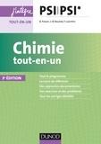 Bruno Fosset et Jean-Bernard Baudin - Chimie tout-en-un PSI PSI*.