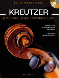 Bruno Garlej et Nicolas Dautricourt - Kreutzer. 2 CD audio