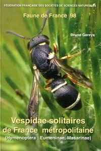 Vespidae solitaires de France métropolitaine (Hymenoptera : Eumeninae, Masarinae) - Bruno Gereys   Showmesound.org