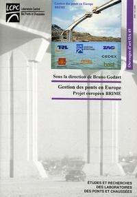 Bruno Godart - Gestion des ponts en Europe - Projet européen Brime.