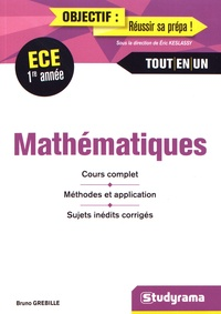 Deedr.fr Mathématiques ECE 1re année Image