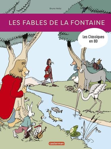 Bruno Heitz - Les classiques en BD  : Les fables de La Fontaine.