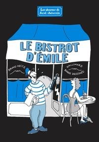 Bruno Heitz - Les dessous de Saint-Saturnin  : Le bistrot d'Emile.