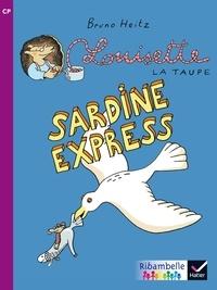 Bruno Heitz et Jean-Pierre Demeulemeester - Louisette la taupe : Sardine Express - CP série violette.