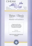 Bruno Jacquet - Master of sciences N° 87 : Diagnostic de la filière laitière de la vallée de Quijos en Equateur : impact d'un accord de libre-échange avec les Etats-Unis sur les systèmes de production et les fromageries.