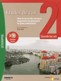 Bruno Jannin - Etudes de cas 2e bac pro - Mise en oeuvre des nouveaux programmes de géographie au lycée professionnel. 1 Cédérom