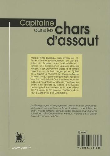 Capitaine dans les chars d'assaut. Aisne, Oise, Flandres (1917-1918)