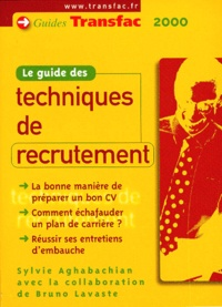 LE GUIDE DES TECHNIQUES DE RECRUTEMENT - Bruno Lavaste | Showmesound.org