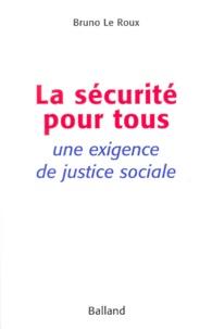 Galabria.be La sécurité pour tous. Une exigence de justice sociale Image