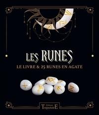 Bruno Liévin - Les Runes - Le livre & 25 runes en agate.