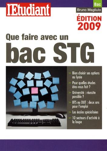 Bruno Magliulo - Que faire avec un bac STG.