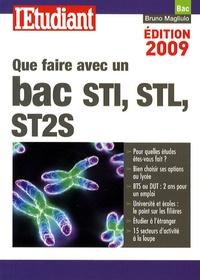Bruno Magliulo - Que faire avec un bac STI, STL, ST2S.
