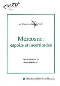 Bruno Mallard - Mercosur : espoirs et incertitudes.