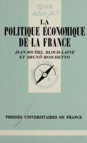 La politique économique de la France 2e édition