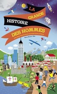 Bruno Muscat - L'Histoire du monde illustrée - livre-objet.
