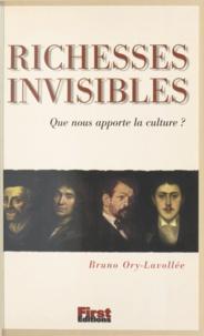 Bruno Ory-Lavollée et Jacqueline Raoul-Duval - Richesses invisibles - Que nous apporte la culture ?.