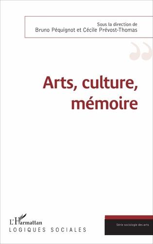 Bruno Péquignot et Cécile Prévost-Thomas - Arts, culture, mémoire.