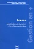Bruno Raibon et Nadia Brauner-Vettier - Access - Modélisation et réalisation d'une base de données.