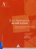 Bruno Rapatout et Bernard Pralong - Les épreuves de note et d'oral - Préparation au concours interne et externe, Ingénieur Subdivisionnaire.