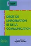 Bruno Ravaz et Stéphane Retterer - Droit de l'information et de la communication.