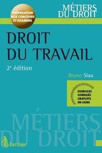 Bruno Siau - Droit du travail - Préparation aux concours et examens.