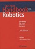 Bruno Siciliano et Oussama Khatib - Springer Handbook of Robotics.