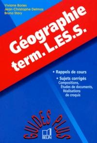 Bruno Stary et Jean-Christophe Delmas - Géographie, term. L-ES-S.