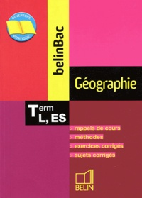 Bruno Stary - Géographie Tle L, ES.