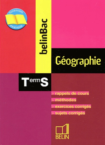 Bruno Stary - Géographie Tle S.