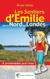 Bruno Valcke - Les sentiers d'Emilie dans le nord des Landes.