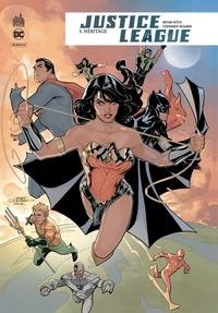 Bryan Hitch et Fernando Pasarin - Justice League Rebirth Tome 5 : Héritage.