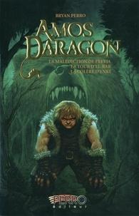 Bryan Perro - Amos Daragon Trilogie 2 : La malédiction de Freyja ; La tour d'El-Bab ; La colère d'Enki.