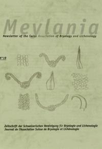 Jan Kucera - Meylania N° 19, Septembre 200 : Illustrierter Bestimmungsschlüssel zu den mitteleuropäischen Arten der Gattung Didymodon.