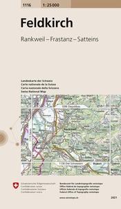 Bundesamt für landestopographi - Feldkirch - 1/25 000.