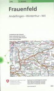Bundesamt für landestopographi - Frauenfeld - 1/50 000.