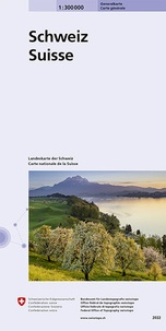 Bundesamt für landestopographi - Suisse général - 1/300 000.