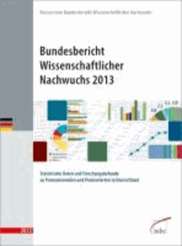 Bundesbericht Wissenschaftlicher Nachwuchs 2013 - Statistische Daten und Forschungsbefunde zu Promovierenden und Promovierten in Deutschland.