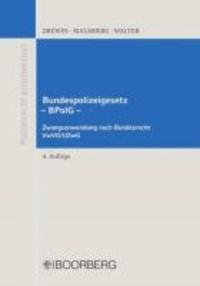 Bundespolizeigesetz BPolG.
