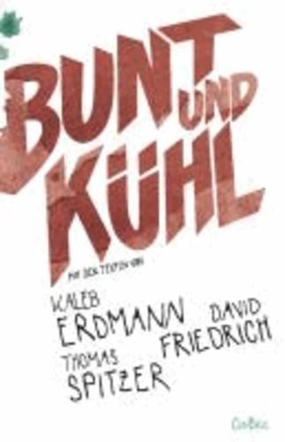 Bunt und kühl - Mit Texten von Kaleb Erdmann, David Friedrich und Thomas Spitzer.